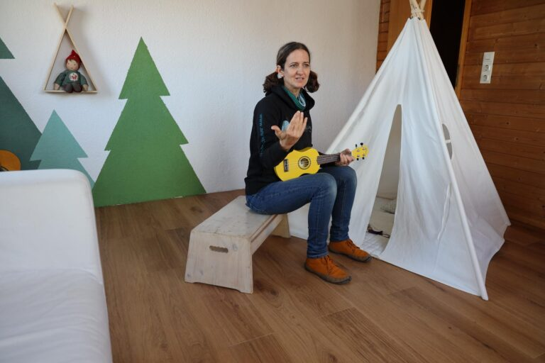 Annette im Studio